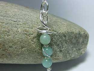 amazonite gemstone jewellery