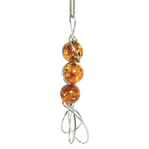 amber and silver jewelllery