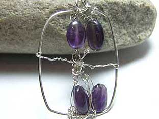 gemstones silver jewellery