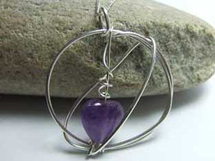 amethyst jewellery unusual design