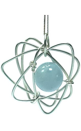 aquamarine contemporary jewellery