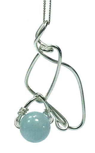 modern aquamarine jewellery
