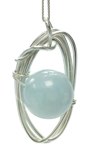 large aquamarine jewellery