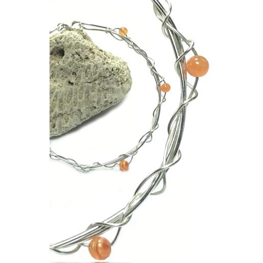 carnelian gemstone bangle