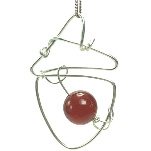 unusual handmade carnelian jewellery