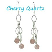 cherry quartz jewellery