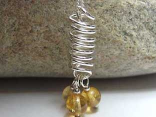 Citrine Handmade Unusual Jewellery