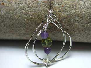 amethyst and peridot jewelry