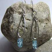 glass earrings uk