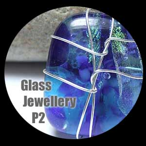 contemporary glass jewellery