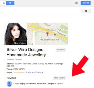 google review jewellery