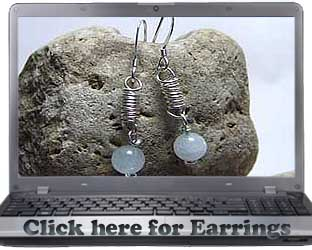 handmade sterling silver earrings inspired by indian jewelry