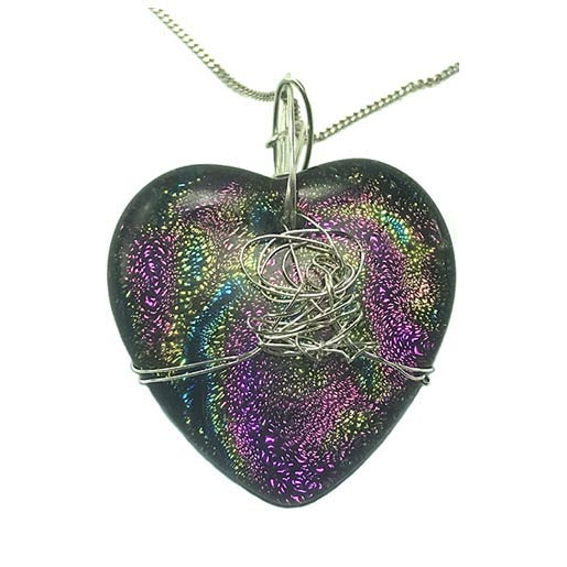 multi coloured heart jewellery