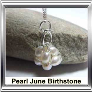 june birthstone pearl jewellery