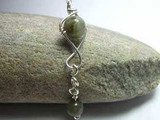 labradorite long jewellery