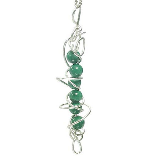 malachite handmade jewellery