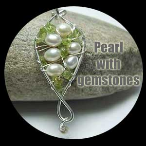 pearl and gemstone jewellery