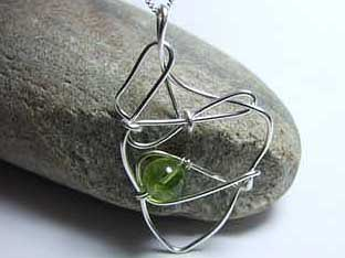 original peridot jewellery