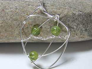 peridot unusual jewellery