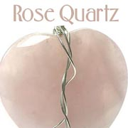 rose quartz handmade jewellery