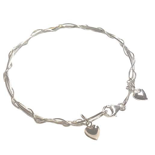 sterling silver contemporary bracelet