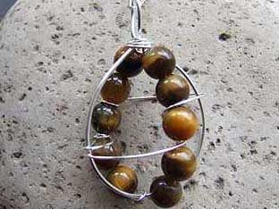 handcrafted tigers eye jewellery