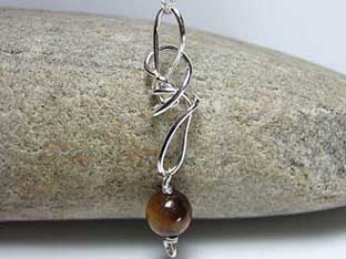 tigers eye jewellery silver