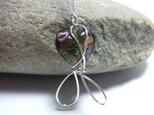 sale heart necklace